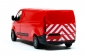 Mobile Preview: Heckwarnmakierungen DIN 30710 Weiß-Rot für Ford Transit Custom Basis Busch MBSK802DD