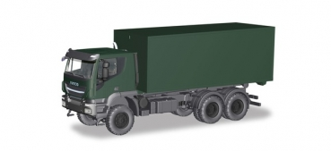 Iveco Tracker 6x6 Abrollcontainer LKW Bundeswehr H746519