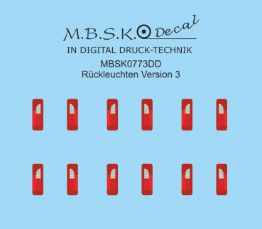 Rückleuchten Version 3 MBSK773DD